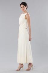 Drexcode - Long draped silk dress  - Vionnet - Rent - 4