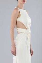 Drexcode - Long draped silk dress  - Vionnet - Rent - 2