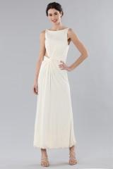 Drexcode - Long draped silk dress  - Vionnet - Rent - 1