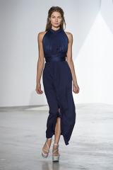 Drexcode - Shirtdress with draped silk tulle - Vionnet - Sale - 1