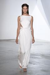 Drexcode - Long draped silk dress  - Vionnet - Rent - 5