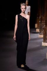 Drexcode - Floor-length one shoulder black dress - Vionnet - Rent - 3