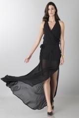 Drexcode - Dress with neck fastening - Vivienne Westwood - Sale - 1