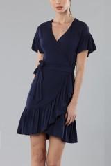 Drexcode - Mini wrap dress with ruffles - MICHAEL - Michael Kors - Rent - 5