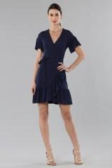 Drexcode - Mini wrap dress with ruffles - MICHAEL - Michael Kors - Rent - 1