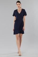 Drexcode - Mini wrap dress with ruffles - MICHAEL - Michael Kors - Rent - 3
