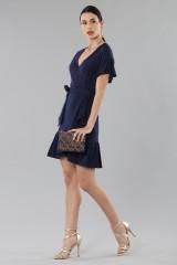Drexcode - Mini wrap dress with ruffles - MICHAEL - Michael Kors - Rent - 2