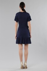 Drexcode - Mini wrap dress with ruffles - MICHAEL - Michael Kors - Rent - 6