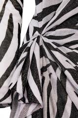 Drexcode - Abito lungo stampa zebra - Redemption - Sale - 3
