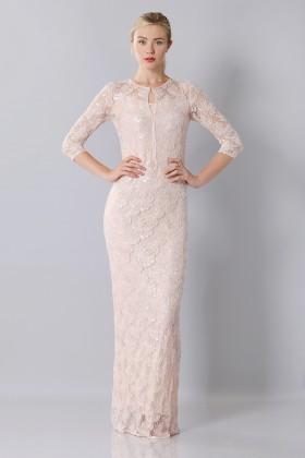 Long embroidered dress - Blumarine - Rent Drexcode - 1