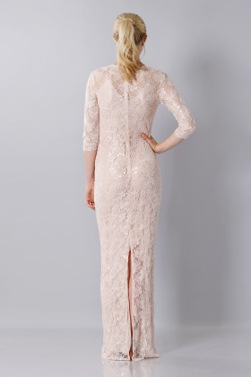 Long embroidered dress - Blumarine - Rent Drexcode - 2