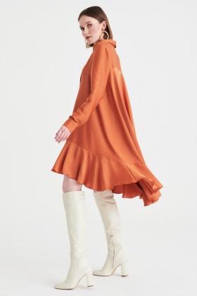 Abito camicia ruggine - Kathy Heyndels - Sale Drexcode - 1