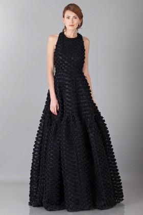 Pop-corn black dress - Rochas - Rent Drexcode - 1