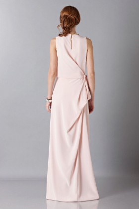 Dress with side drapery - Albino - Rent Drexcode - 2