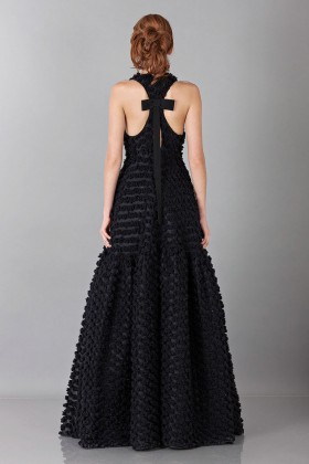 Pop-corn black dress - Rochas - Rent Drexcode - 2