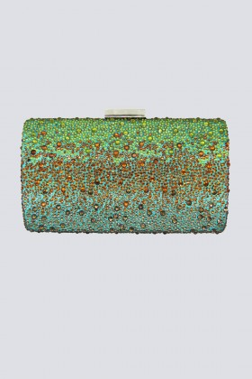Green orange degrade clutch - Anna Cecere - Sale Drexcode - 1
