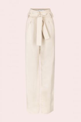 Pantaloni in lino con cintura - IRO - Rent Drexcode - 1
