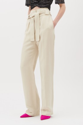 Pantaloni in lino con cintura - IRO - Rent Drexcode - 2