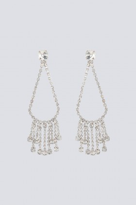 Drop earrings with swarovski crystals - CA&LOU - Sale Drexcode - 1
