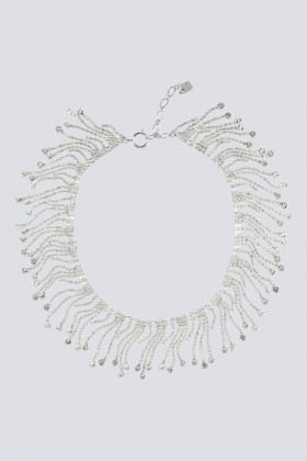 Necklace with crystal fringes - CA&LOU - Sale Drexcode - 1