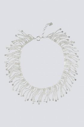 Collana con frange di cristalli - CA&LOU - Rent Drexcode - 2