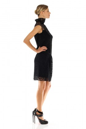Lace dress with turtleneck - Nina Ricci - Sale Drexcode - 2