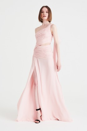 Abito in chiffon rosa - Redemption - Rent Drexcode - 2