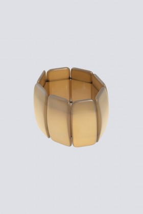 Bracciale in resina caramello - Sharra Pagano - Rent Drexcode - 1