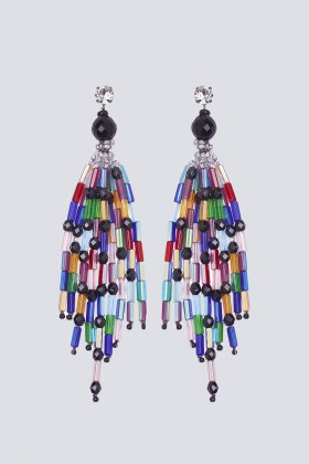 Orecchini pendenti multicolor - Sharra Pagano - Sale Drexcode - 2