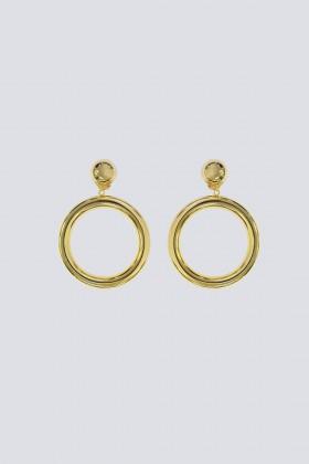 Orecchini piccoli a cerchio - Sharra Pagano - Sale Drexcode - 1