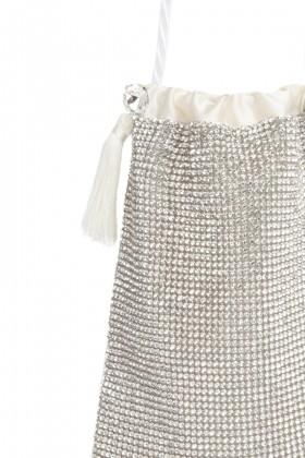Micro pouch bag con cristalli - CA&LOU - Rent Drexcode - 2