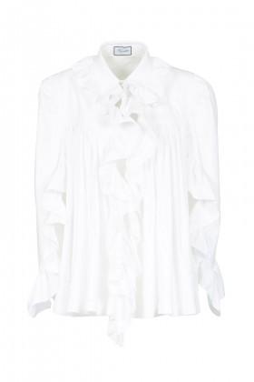 Camicia in cotone con rouches - Redemption - Sale Drexcode - 2