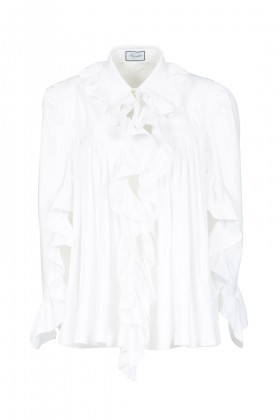 Camicia in cotone con rouches - Redemption - Rent Drexcode - 2