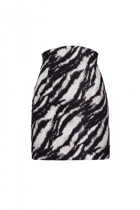 Minigonna in stampa zebra - Redemption - Sale Drexcode - 2