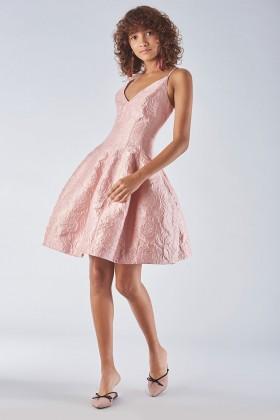 Bon ton dress with balloon skirt - Halston - Rent Drexcode - 1