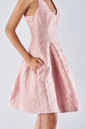 Bon ton dress with balloon skirt - Halston - Rent Drexcode - 2