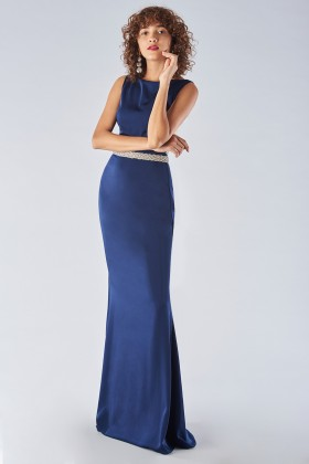 Dress with jeweled belt - Forever unique - Rent Drexcode - 1