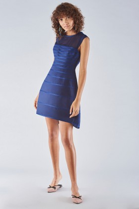 Dress with relief decoration - Halston - Rent Drexcode - 1