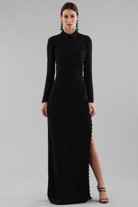 Long dress with colorful buttons  - Marco de Vincenzo - Rent Drexcode - 2