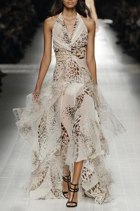 Animalier silk dress - Blumarine - Rent Drexcode - 2