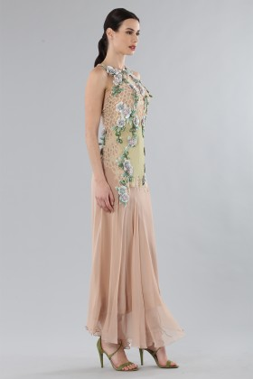 Chiffon dress - Alberta Ferretti - Rent Drexcode - 2