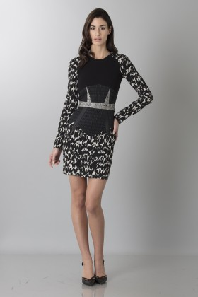Patterned dress - Antonio Berardi - Sale Drexcode - 1