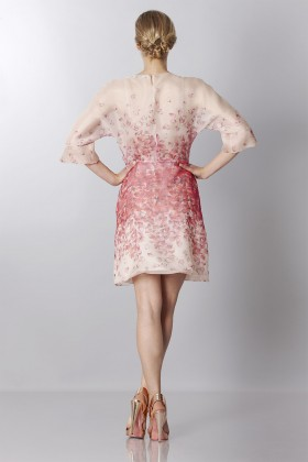 Silk organza dress with floral printing - Blumarine - Rent Drexcode - 2
