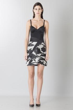 Short skirt with flowers - Blumarine - Sale Drexcode - 1