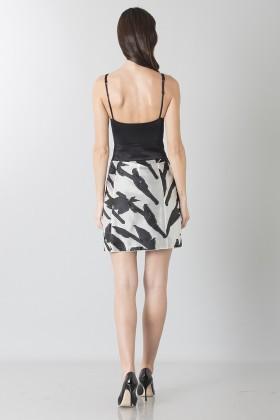Short skirt with flowers - Blumarine - Rent Drexcode - 2