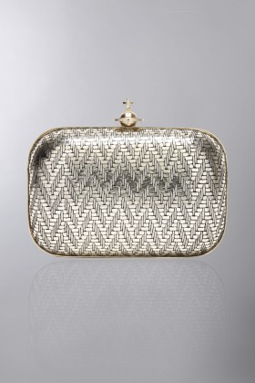 Gold clutch - Vivienne Westwood - Rent Drexcode - 1