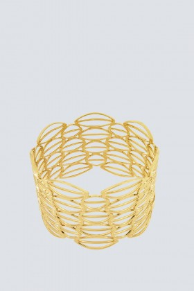 Yellow gold bracelet - Natama - Rent Drexcode - 1