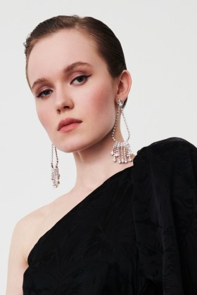 Drop earrings with swarovski crystals - CA&LOU - Sale Drexcode - 2