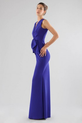 Long dress with maxi bow - Chiara Boni - Rent Drexcode - 2