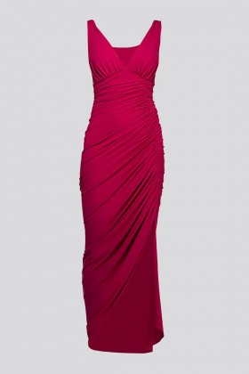 Asymmetric draped dress - Chiara Boni - Rent Drexcode - 2